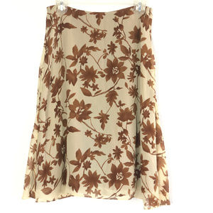 Tommy Bahama Women's Silk Floral Skirt 102K
